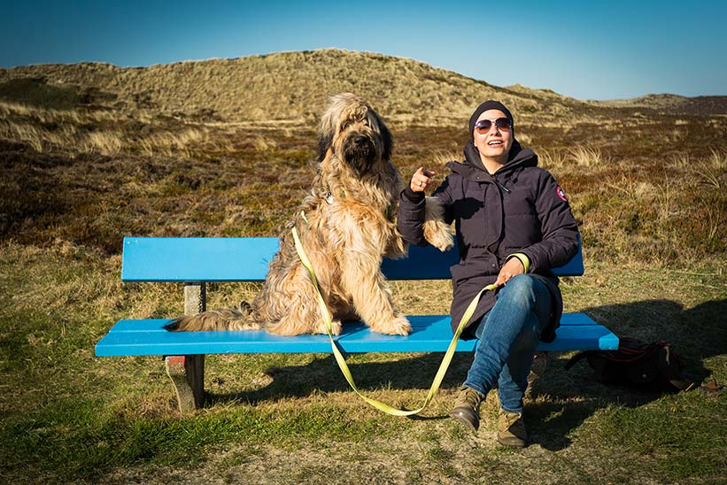 Leica M Frau mit Hund