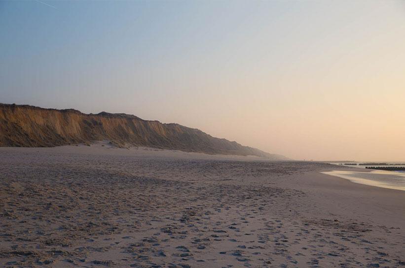 Urlaub auf Sylt: Besuch das Rote Kliff