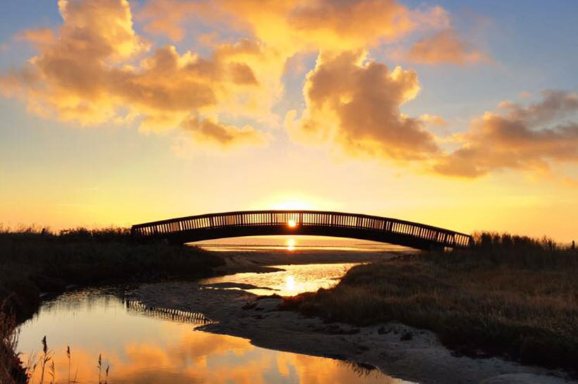 Fotografie Lügenbrücke Sylt von Oke Boysen