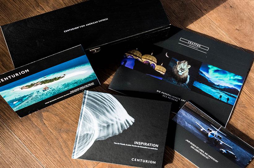 Reise Material American Express Centurion