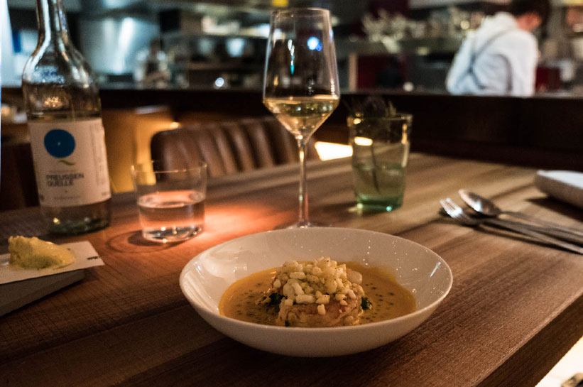 Luxus in Berlin Gourmetrestaurant