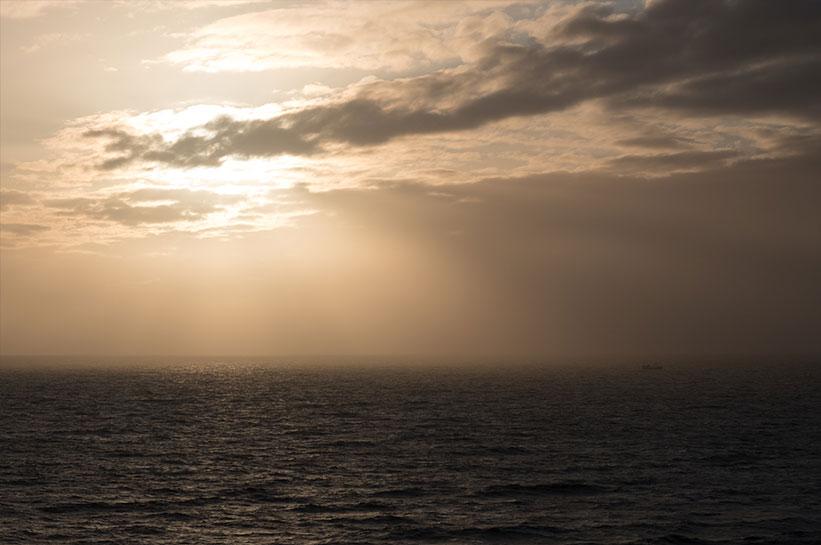 Blick aufs Meer Kampen