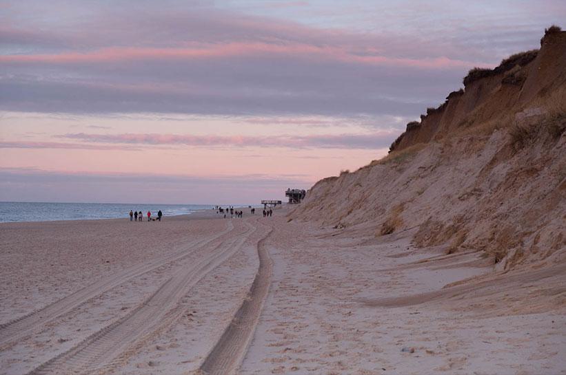 Sehenswert: Das Rote Kliff auf Sylt
