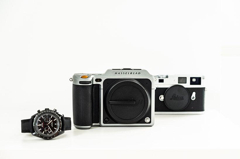 Hasselblad X1D Leica M Omega Speedmaster