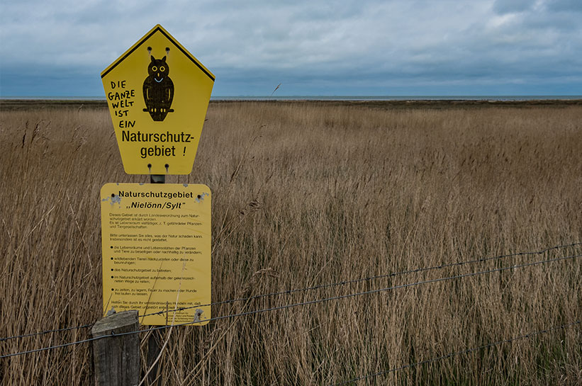 Kampen Nielönn Naturschutzgebiet