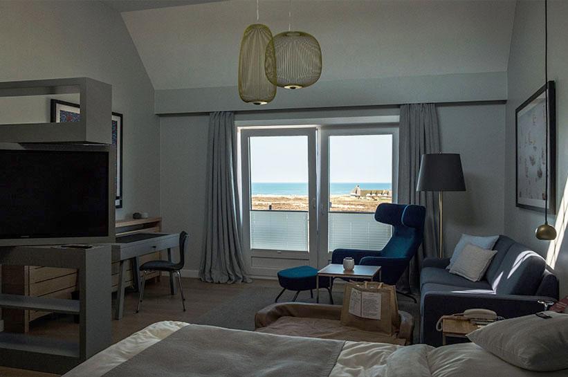 Kampen Sylt Hotel mit Meerblick