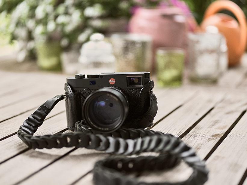 Kamera Zubehoer Gurt Leder
