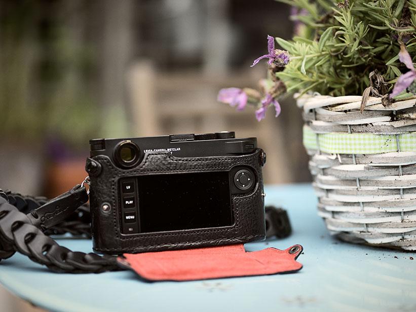 Kamera Zubehör Kamerahülle für Leica Leder