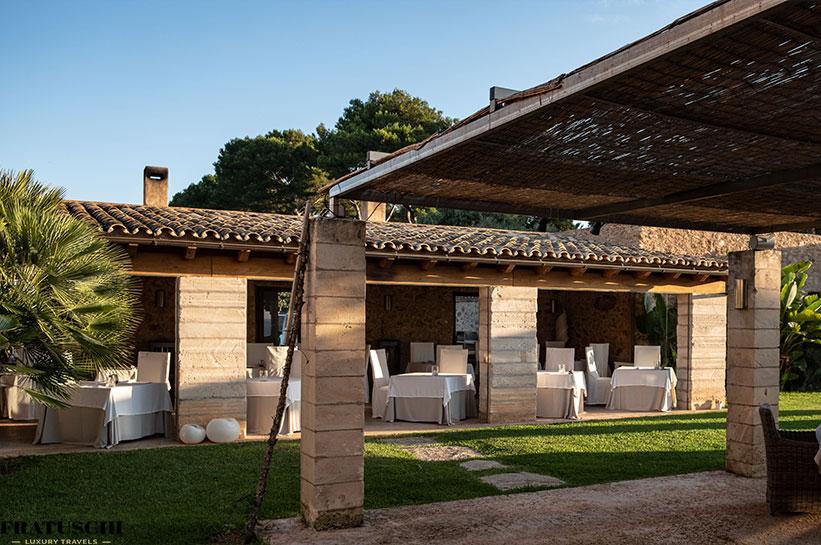 Ansicht Can SImoneta Restaurant