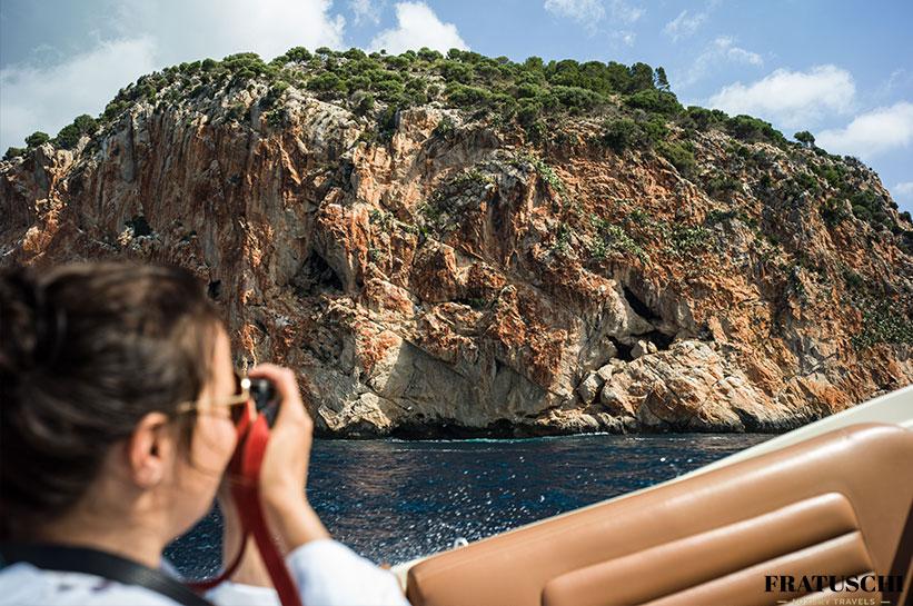 Mallorca Boot Küste