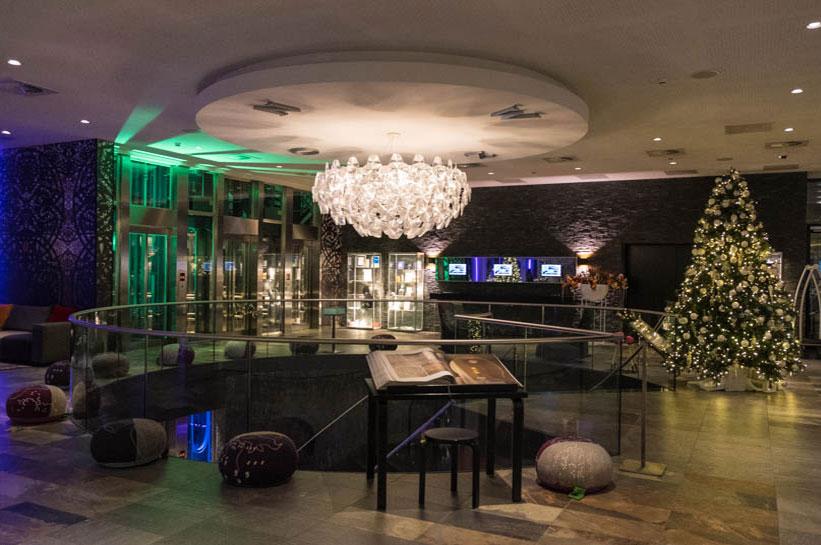 Rotterdam Luxushotel Tipp Mainport Lobby