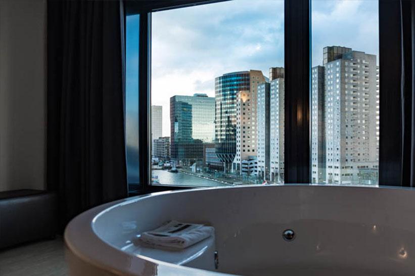 Rotterdam Hotel mit Whirlpool Zimmer