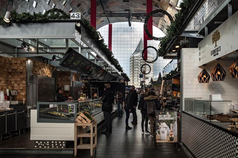 Rotterdam Essen und Trinken in der Markthalle