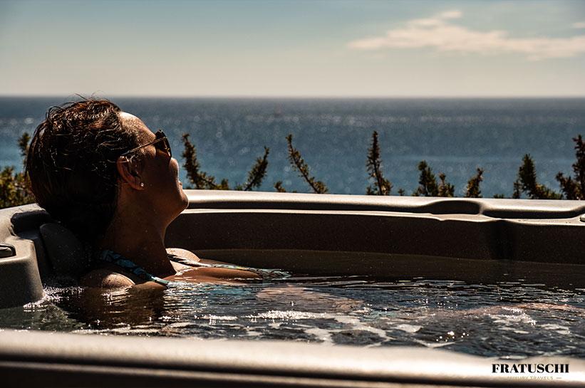 Whirlpool am Meer auf Mallorca