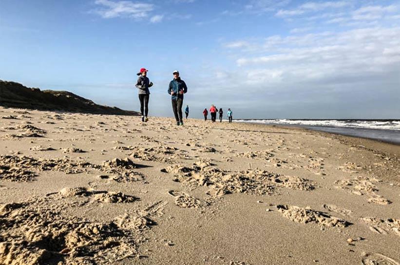 Fitness auf Sylt Joggen am Strand