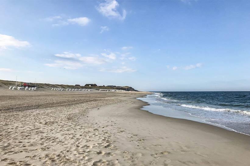 Strand in Kampen - Fitness auf Sylt