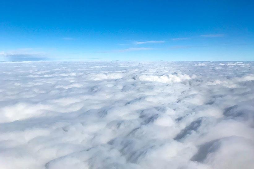 Über den Wolken: Langstreckenflug Tripps