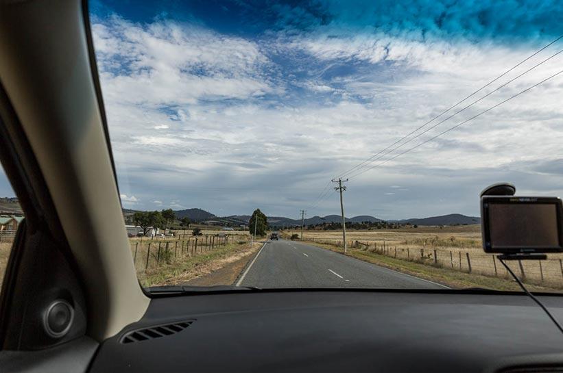 Tasmanien urlaub Mietwagen