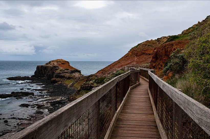 Wanderweg Mornington Peninsula