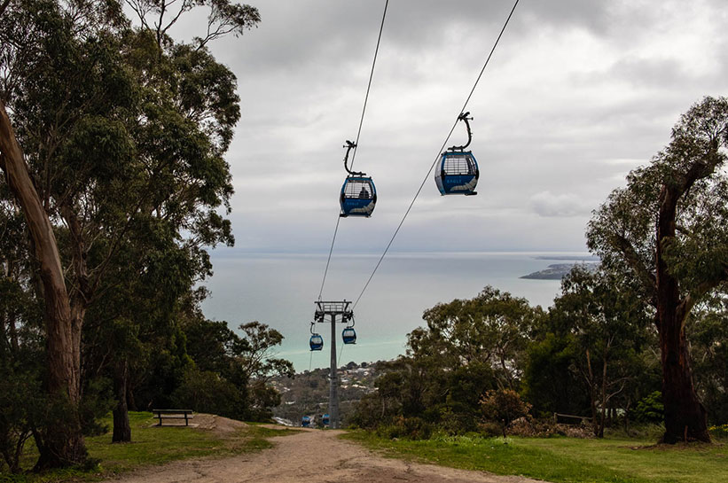 Seilbahn Mornington Peninsula Eagle Arthurs Seat