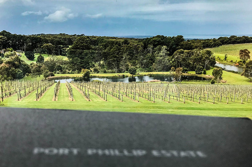 Port Phillip Estate Weingut Blick