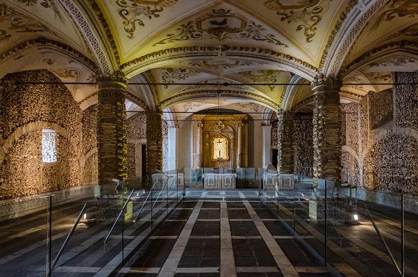 Evora Portugal Knochenkapelle