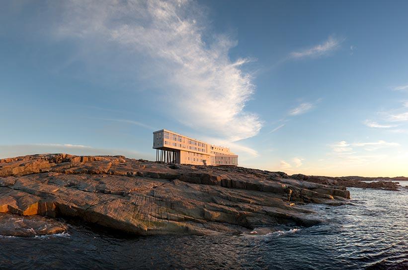 Fogo Island Inn Kanadas exklusivstes Inselhotel