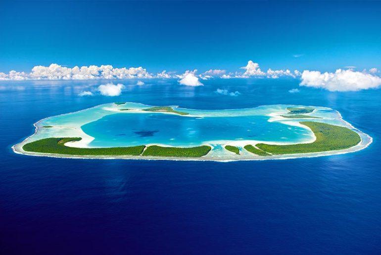 Schoenste Insel der Suedsee