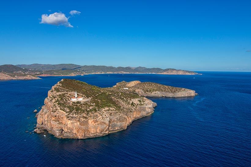 Die schönste Insel Europas Tagomago bei Ibiza