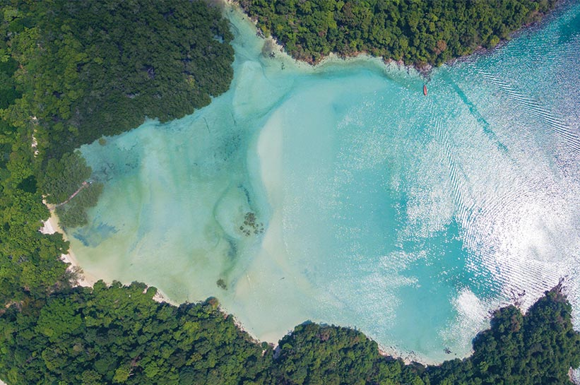 Die schönste Insel der Welt in Myanmar