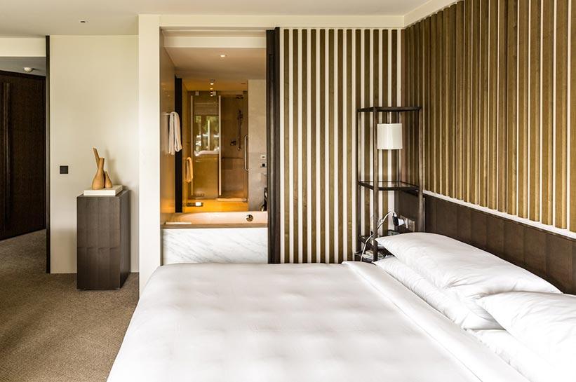 Zimmer im Park Hyatt Luxushotel Sydney