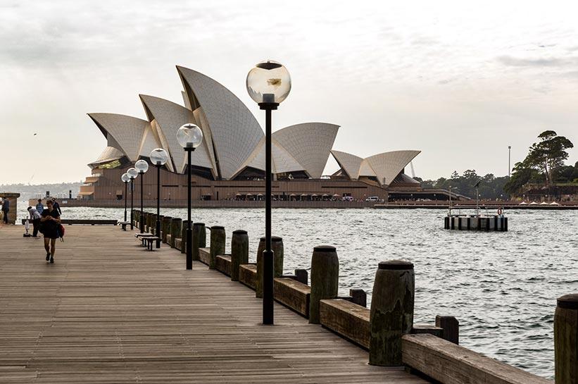Sydney Luxushotel gegenüber der Oper