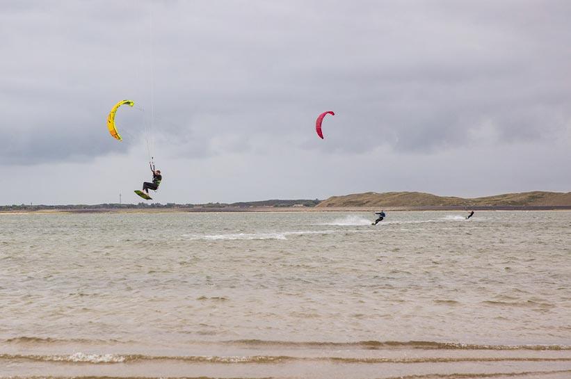 Kiteschule Ellenbogen Sylt - Kiter