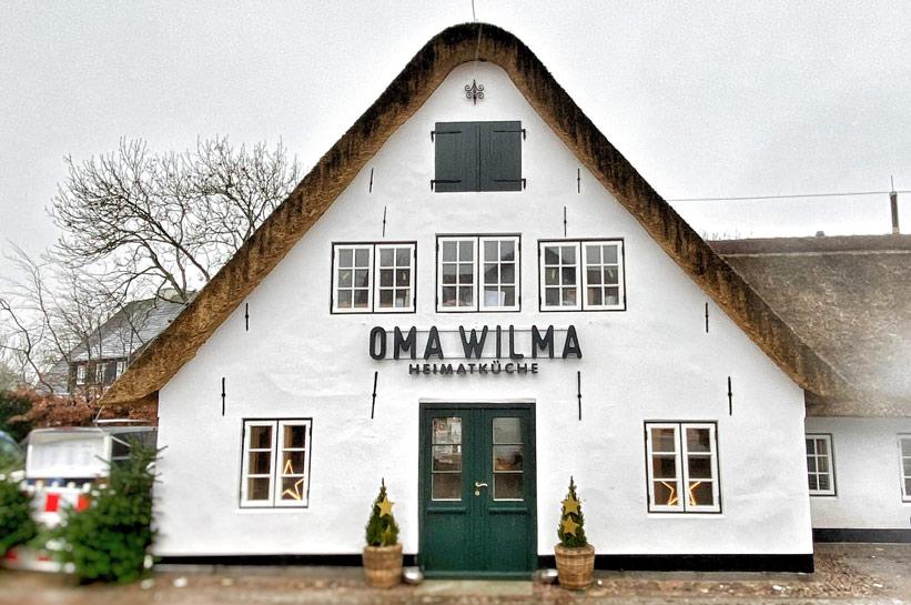 Restaurant Sylt Oma Wilma