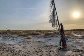 Müll auf Sylt Beach Cleanup