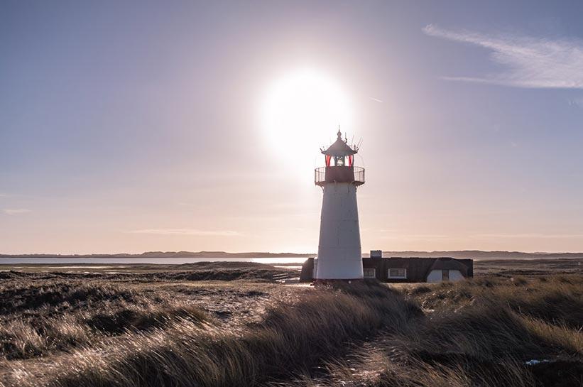 Ellenbogen Sylt Leuchtturm