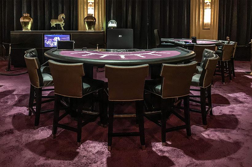 Spielbank Black Jack Tisch