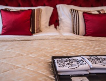 Selektion Deutscher Luxushotels Vier Jahreszeiten Bett