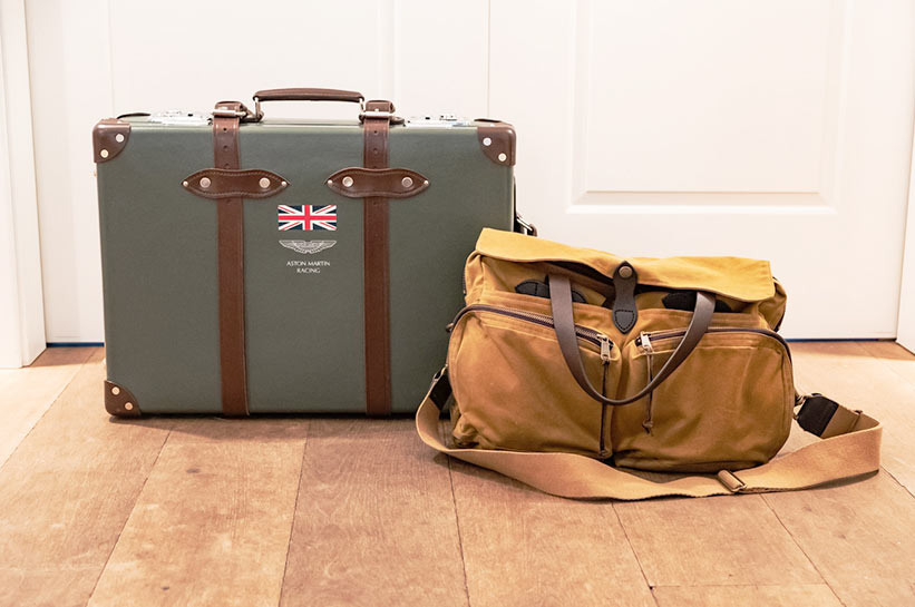 Koffer oder Handgepäck