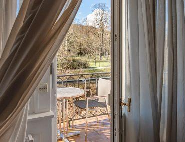 Brenners Park Hotel Aussicht vom Zimmer