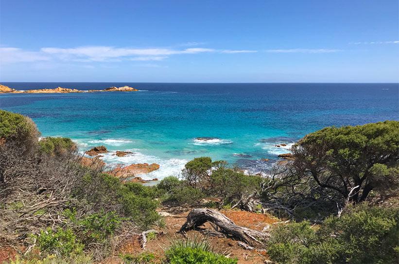 Margaret River Australien Küste