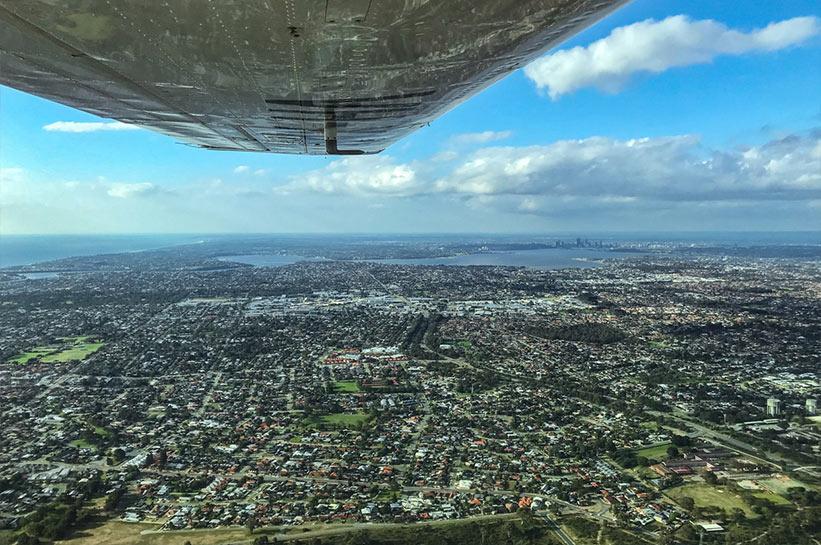 Perth von oben