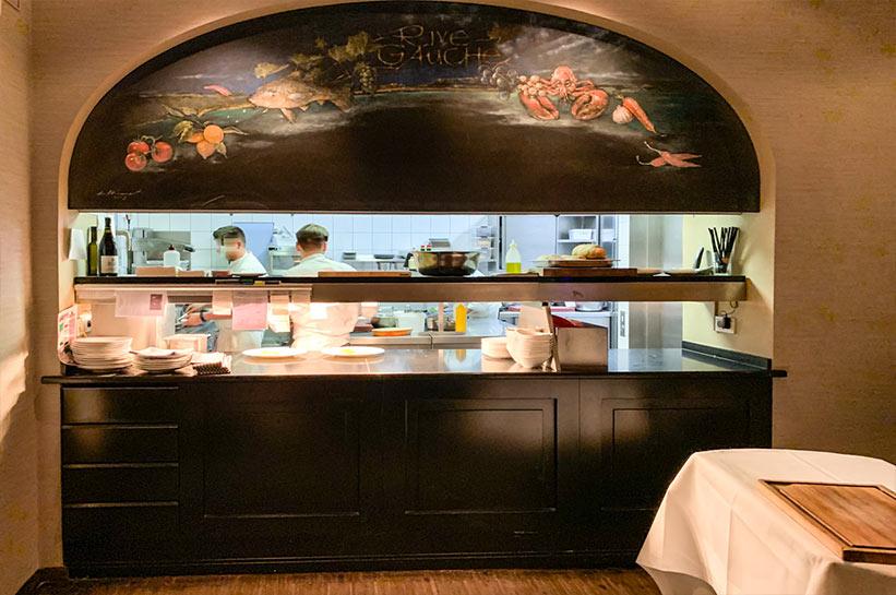 Brenners Restaurant Rive Gauche Küche