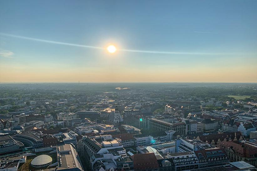 Aussichtsplattform Sehenswürdigkeiten Leipzig