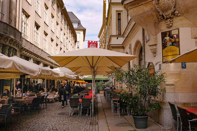 Barfussgässchen Leipzig
