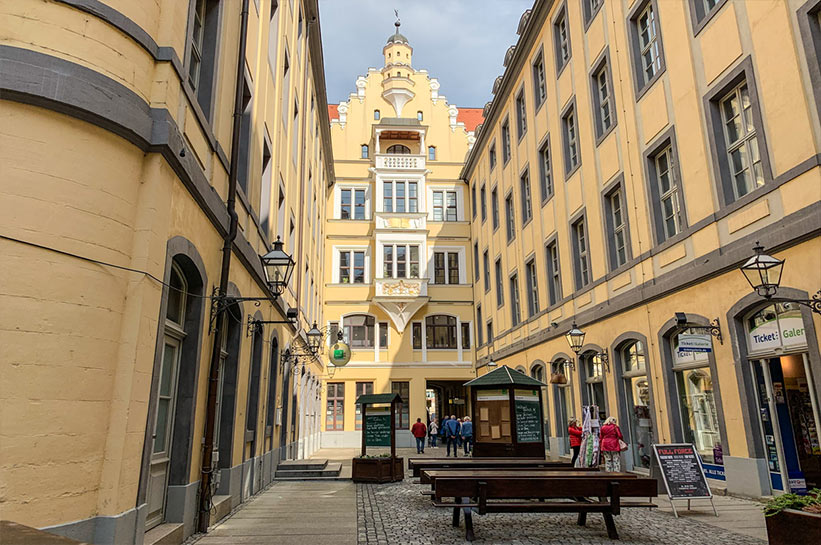 Leipzig Höfe und Passagen