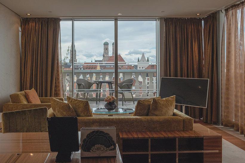 Mandarin Oriental München Erfahrung Zimmer & Suiten mit Blick