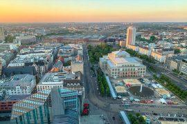 Blick auf Leipzig Sehenswürdigkeiten