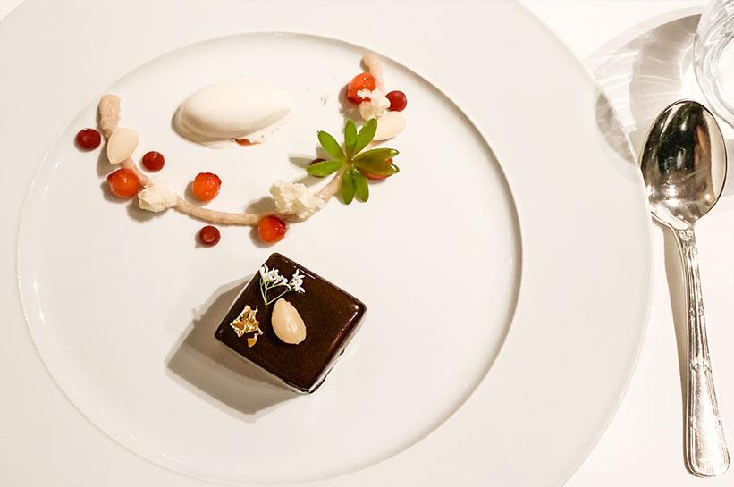 Sternerestaurant Vallee Verte Dessert Teller