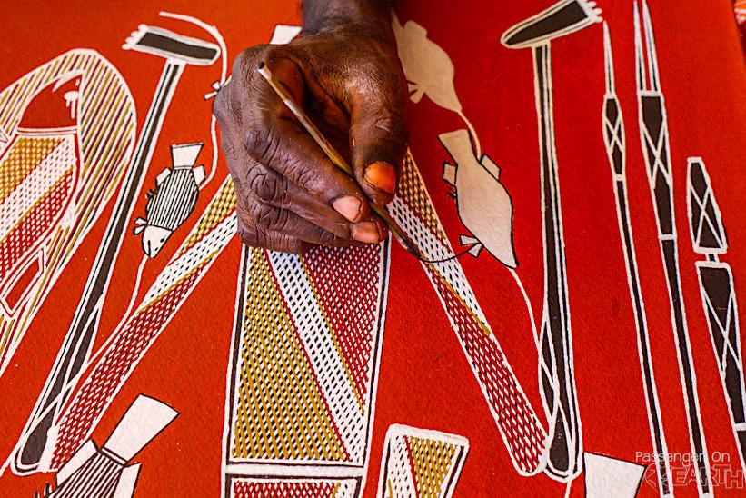 Kunst der Ureinwohner Australiens